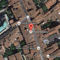 Hotel Anna's Florence - location